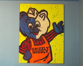 Grizzly Wiggly - Black Light Edition