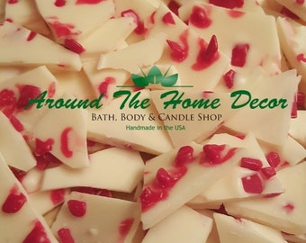 Peppermint Bark All Natural Vegan Soy Wax melts 4 0z. - Holiday Fragrances