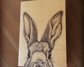 A5 Hand Drawn Animal Notebooks