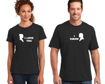 Couples STAR WARS - I Love You, I Know - Han Solo and Princess Leia