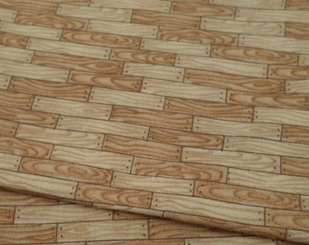 Wood Grain Fabric, Wood Plank, Mumm's the Word, Fabric by the Yard, Quilting, Novelty, Craft