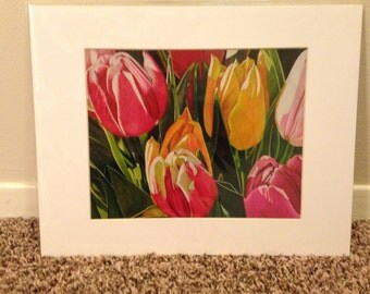 "Tulips - 8x10"" print"