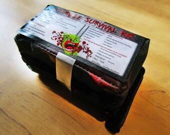 Zombie Survival Kit. Zombie Apocalypse Kit. Camping Kit