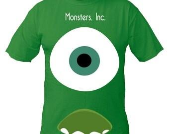 Boys or Girls Monsters Inc Mikey's Eye Kids T Shirt