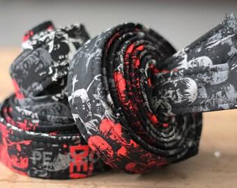 Last 3! Handlebar Tape- Zombie Cotton Wrapped Gel Cork