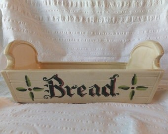 Poppy Trail by Metlox Homestead Provincial Ceramic Bread Box/Basket/Dish
