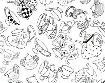 Loralie Designs - Tea Party White