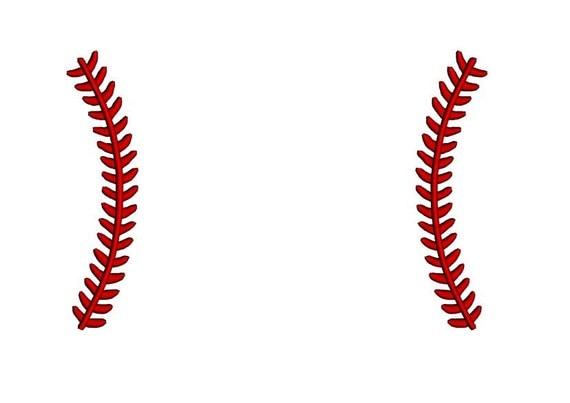 Laces monogram frame baseball embroidery design softball laces
