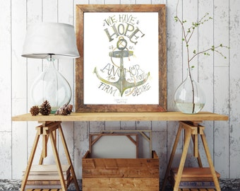 Anchor for our Soul Hebrews 6:19 PRINT