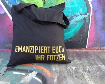Emancipated you - jute bag
