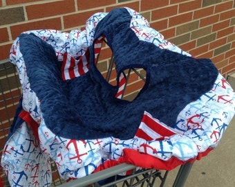 Anchor's Shopping Cart Cover