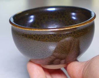 OIlspot cup, porcelain