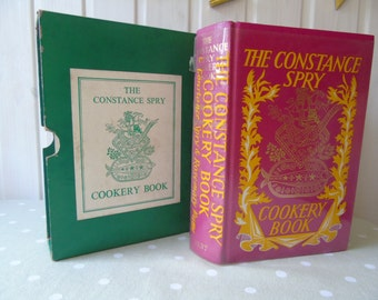 1964 The Constance Spry Cookery Book by Constance Spry & Rosemary Hume - Illustrated Cookbook - Vintage Cookery Book