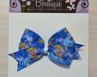 Boutique Style Hair Bow - Disney Princess, Cinderella