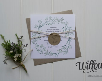Olive Grove Wedding Invitation