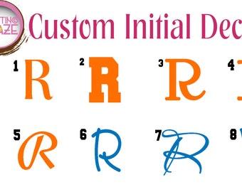 Vinyl Name Decals Stickers - Custom Decal, Car Decal Names, Vinyl Names, Vinyl Lettering (Various Sizes)