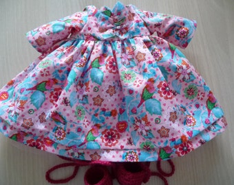 Dress for cloth doll