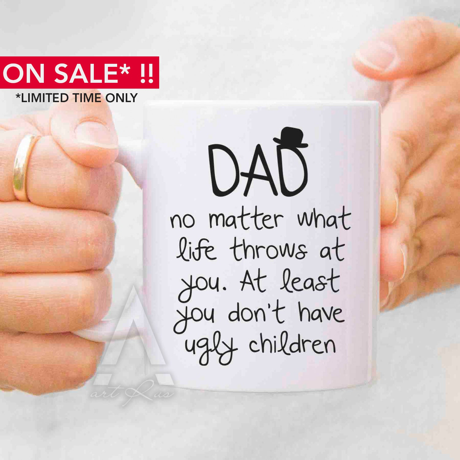 Fathers Day Gift From Daughter Fathers Day Mugs Dad Mug By