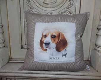 Pillow with dog - Beagle