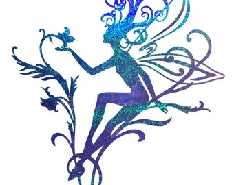 Fairy Decal Etsy