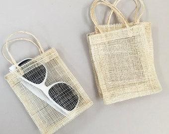 20 pcs Sinamay Wedding Favor Bags