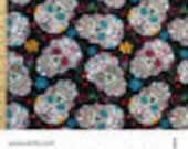 Custom Order - Crochet Hook Clutch and Crochet hook roll in Sugar Skulls