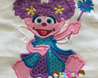 Abby Cadabby Birthday shirt, Abby Cadabby Personalized Shirt, Abby, Embroidered Shirt
