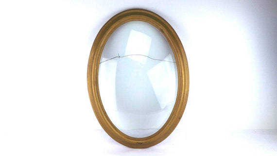 antique convex frame domed glass picture frame