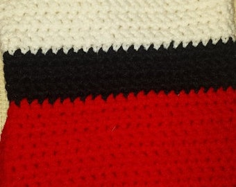 Crocheted Pokeball Bag