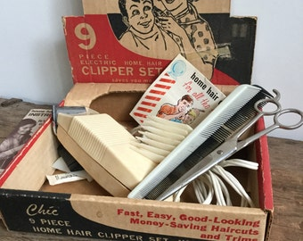 Chic Electric Clipper Set with Accessories and Box