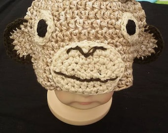 cotton bonnet monkey