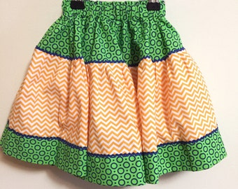 girl's full skirt Size 2T to 4T