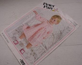 Vintage Peter Pan Dress Pattern P494, Dress Pattern, 46 - 56cm.