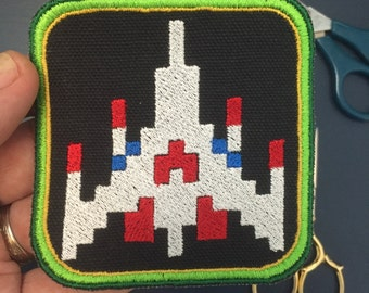 Galaga 3in. sew-on patch