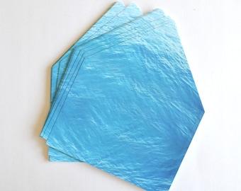 Destination wedding invitation, blue envelope liner, beach wedding envelope, ocean envelope liner, blue A7 envelope liner, lined envelope