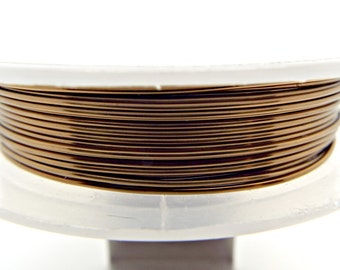 Copper wire jewelry etsy 20 gauge bronze wire 6 metres 08mm wire colored copper wire greentooth Images