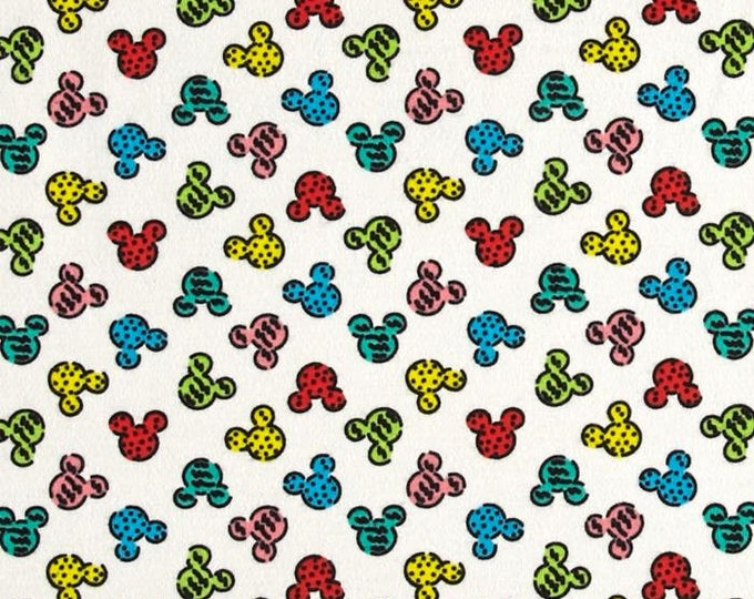 Springs Creative - Disney Knit Delicious Mickey Heads - Knit Fabric