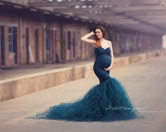 Thistle Dress Extra + Strapless + Sweetheart Top l Maternity Dress l Maternity Gown l Belly Dress l Photoshoot l Baby Shower
