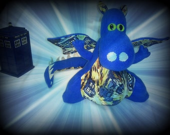 Dr. Who Exploding Tardis Dragon