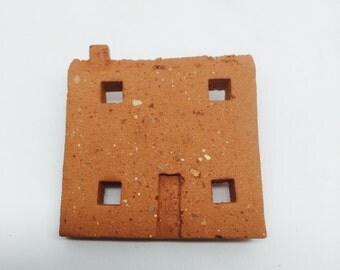 Brick House Brooch
