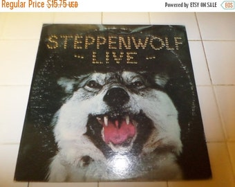 Vintage 1970 LP Record Steppenwolf Live Two Record Set Dunhill Records DSD-50075 Excellent  Condition