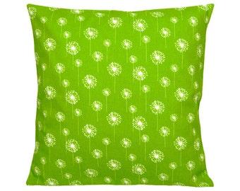 1 pillowcase dandelion DANDELION green-and white 50 x 50 cm