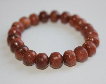 Brown Goldstone Bracelet