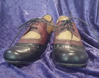 Vintage leather shoes size 8 aus