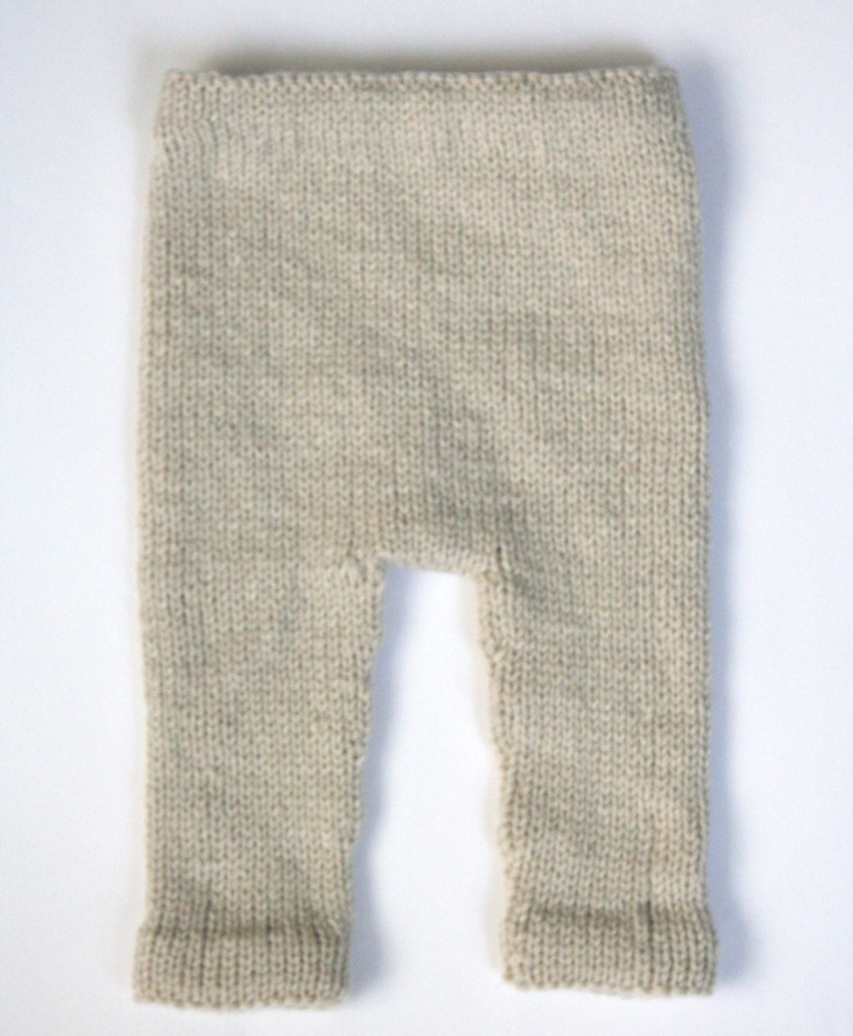 Knit Leggings Pattern : PDF Knitting Pattern Baby Leggings