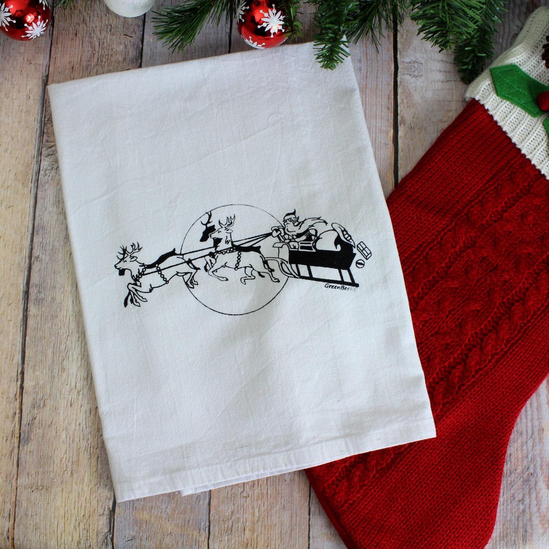 flour sack towel | GreenBeeKC Blog