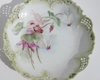 Vintage Antique Porcelain Small Bowl Dish – Vienna Austria