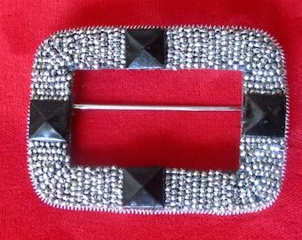 Antique Cut-Steel Pin