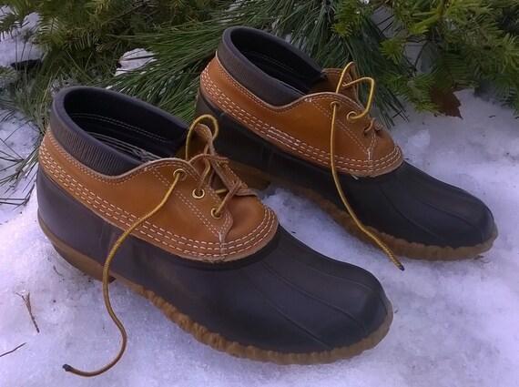 s l l bean boots low duck shoes size 11