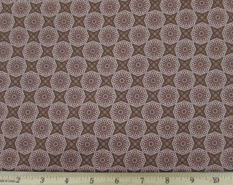 Friendly Forest Chocolate Brown Fabric Fabric From SPX By the Yard